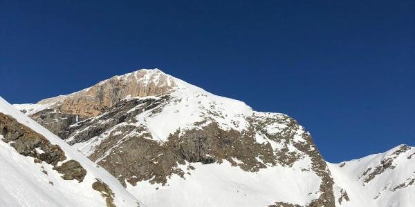 Blick auf die Weißwandspitze