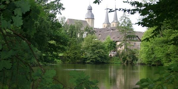Blick auf die Abtei