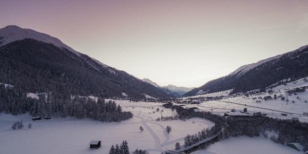 Un réseau de pistes de ski de fond parfaitement préparé