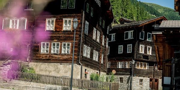 Mountain village Geschinen