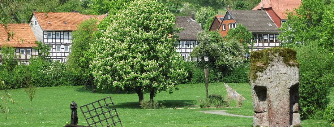 Klosterpark mit Teich