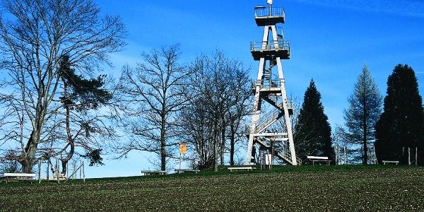 Ueber den Homberg: Aussichtsturm