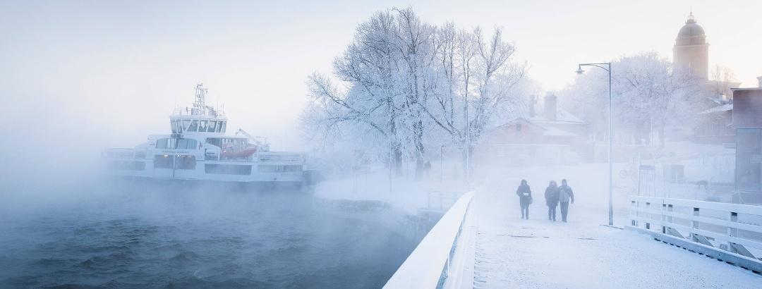 Suomenlinna im Winter