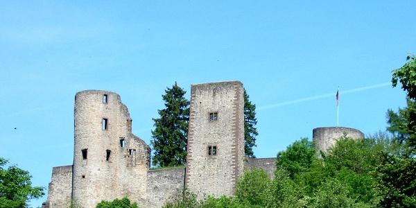 Burgruine Schönecken, TI Prüm M.Schuler