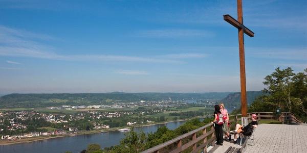 Ausblick vom Kaiserberg in Linz