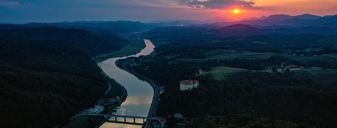 Der Fluss Sava