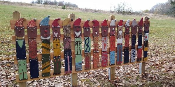 Skulpturen am Wegesrand Bleiwäsche