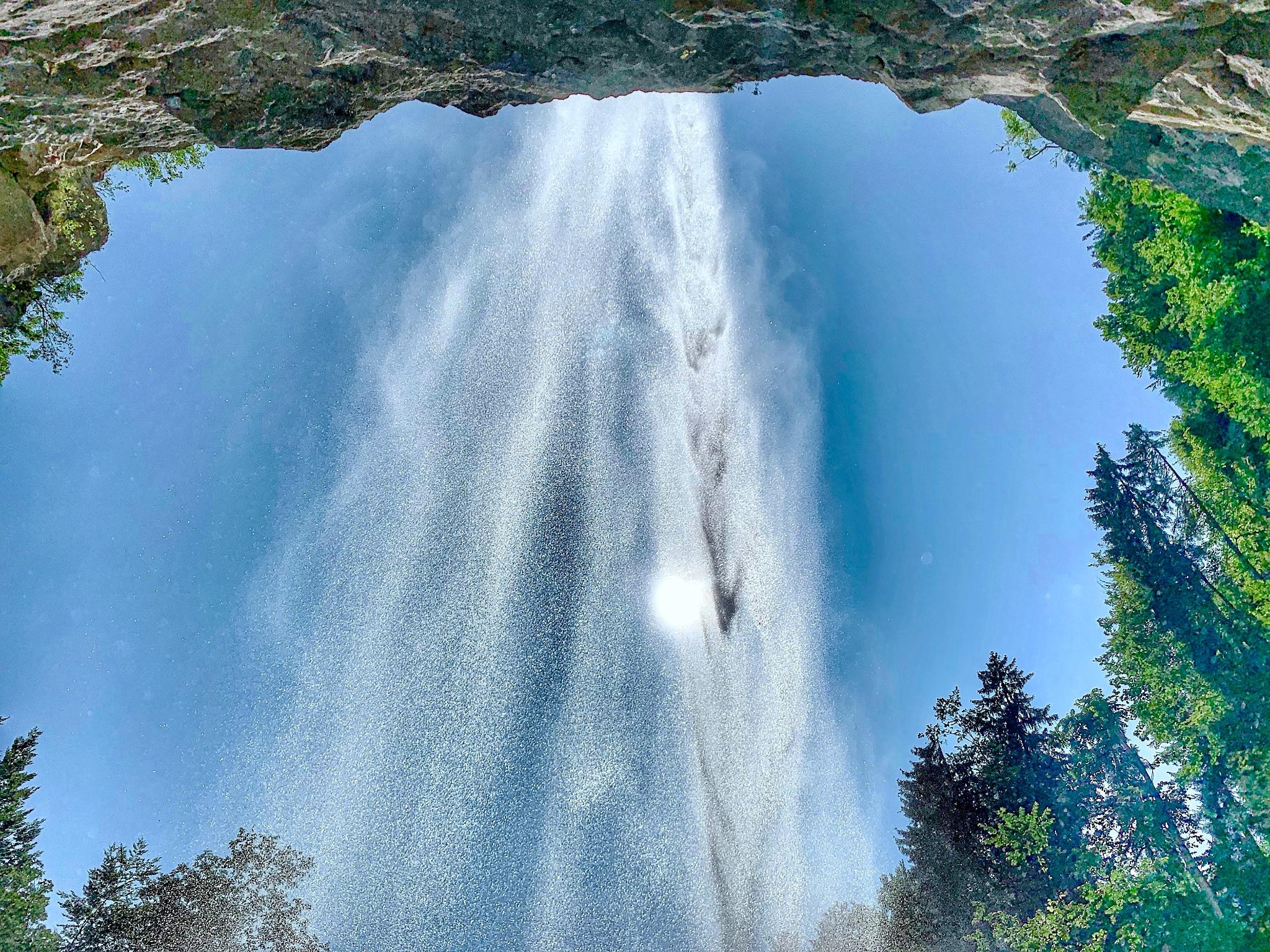 Wasserfall Schossrinn