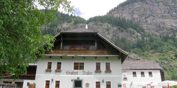 Gasthof-Pension Faller im Sommer