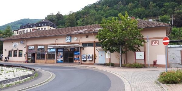 Bahnhof in Lambrecht (Pfalz)