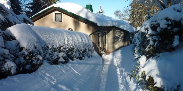 Ferienhaus Eismann im Winter