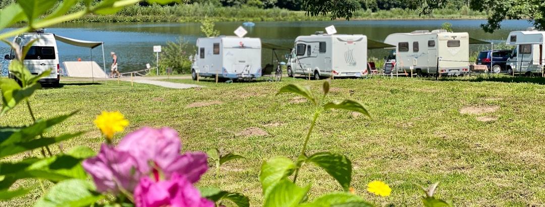 Wohnmobilhafen und Campingplatz am SchiederSee