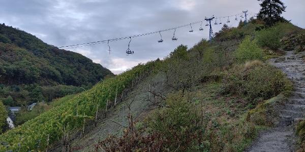 Boppard - Lift auf den Hirschkopf