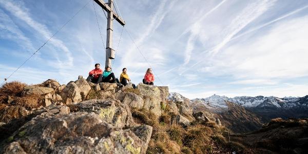 Gipfel Muttjöchle