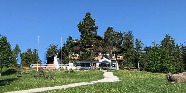 Unser Ziel: der Berggasthof Blomberghaus