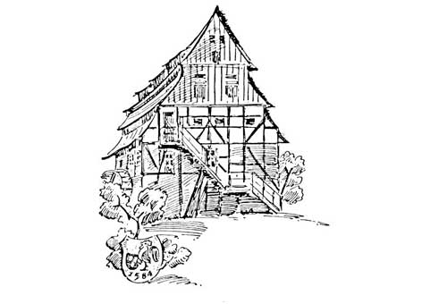 Zeichnung Hahnemühle