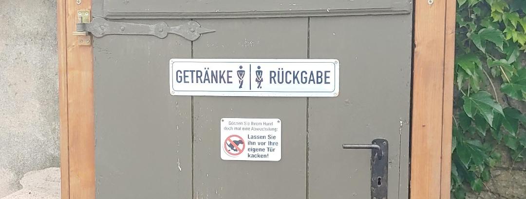 Nachhaltige Toilettenbezeichnung