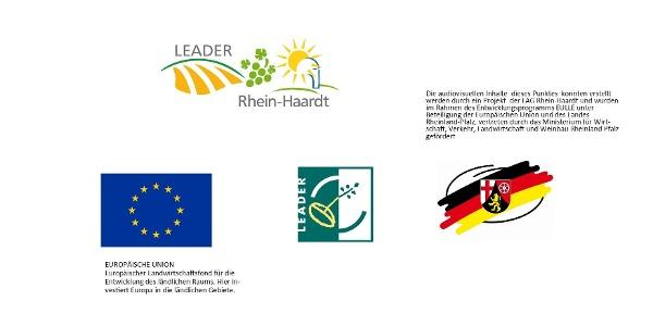 Publizitätshinweis Leader Region Rhein-Haardt