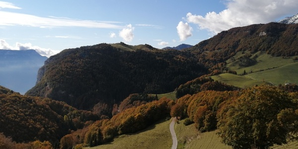 Panorama verso Malga Postemonzel