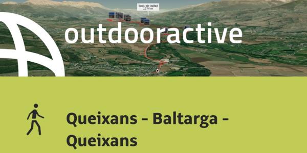 Caminata en Pyrenees: Queixans - Baltarga - Queixans