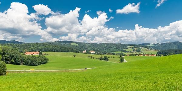 Piberer Hügellandschaft