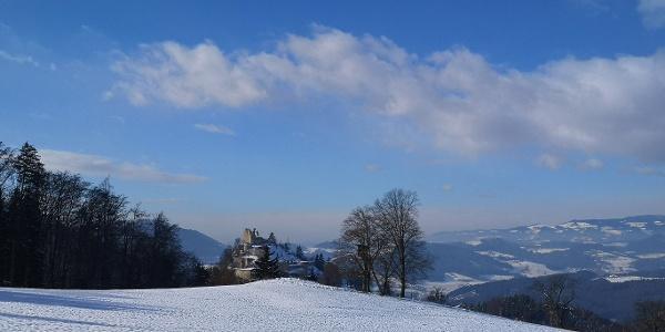 Burgruine Rabenstein im Winter