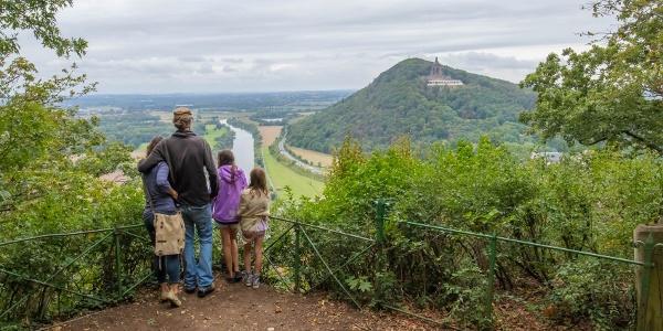 Aussicht Porta Kanzel auf das Kaiser Wilhelm Denkmal