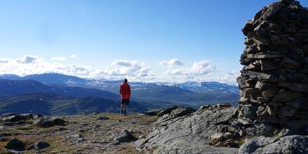 Storgruvpiken i Skaret byr på gode naturopplevelser i ekte høyfjellsterreng.
