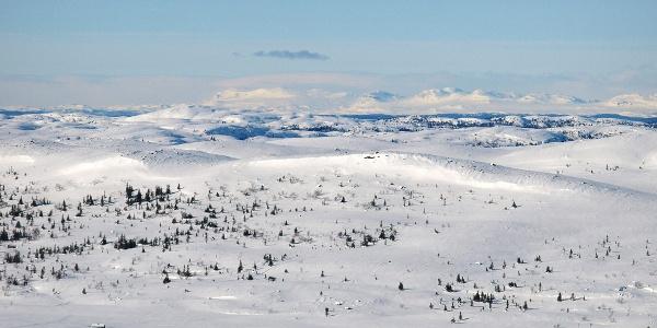 Utsikt fra Sæterknatten.
