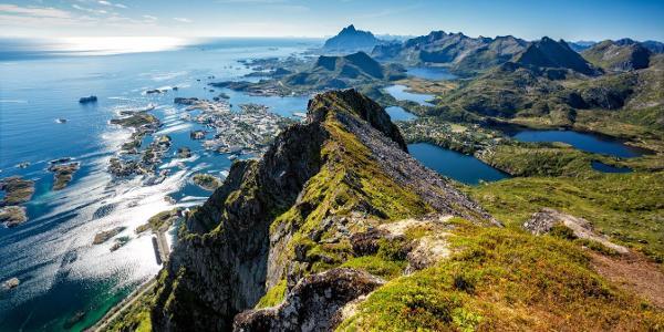 View over Svolvær.