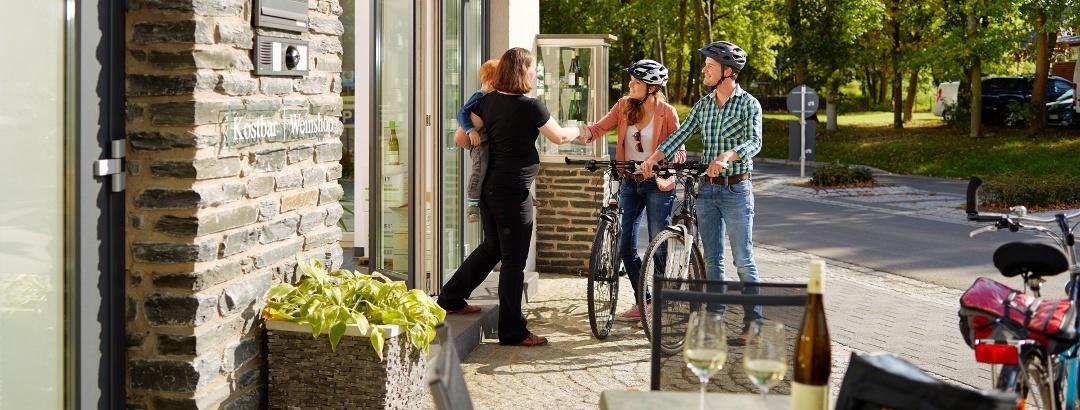 Radfahren und Moselgenuss