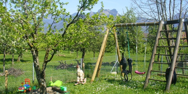 Kinderspielplatz-Berghof-Pension