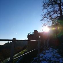 Auf der Wachtenburg