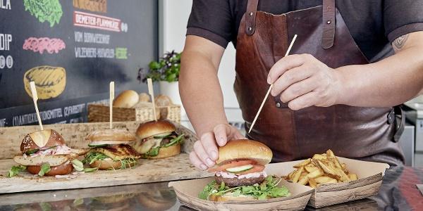 Frische Bürger bei Burger and More
