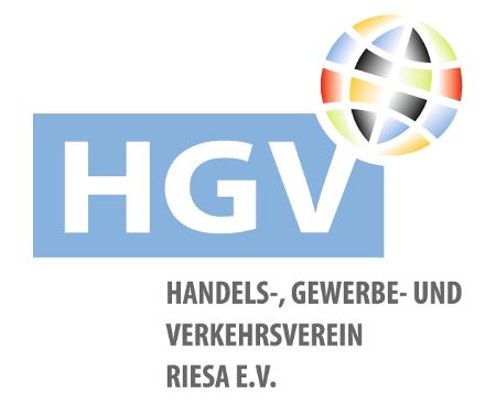 Logo HGV Riesa e.V./ RIESA INFORMATION
