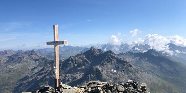 Schwarzhorn Gipfelkreuz