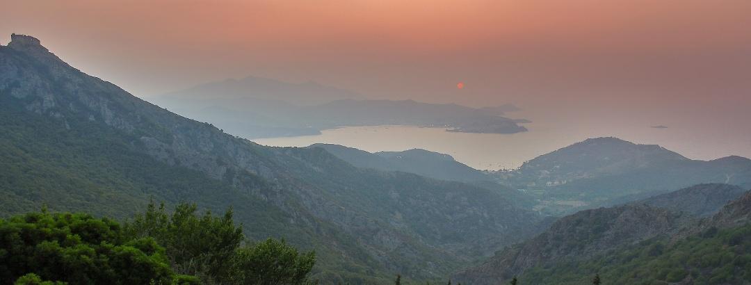 Vista su Portoferraio, Isola d'Elba