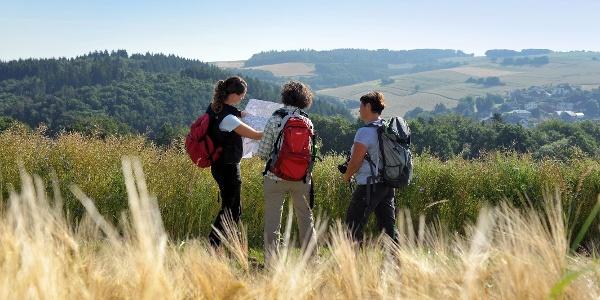 Wandern auf dem Steinbach Rundweg Masburg