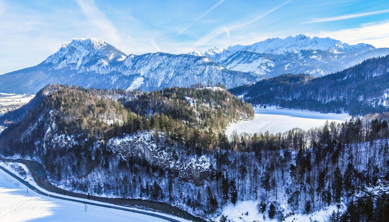 Kiefersfelden, Hechtsee, Kaisergebirge