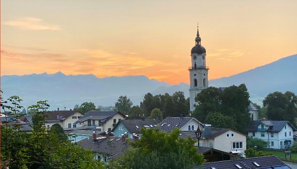 Kiefersfelden Pfarrkirche Heilig Kreuz