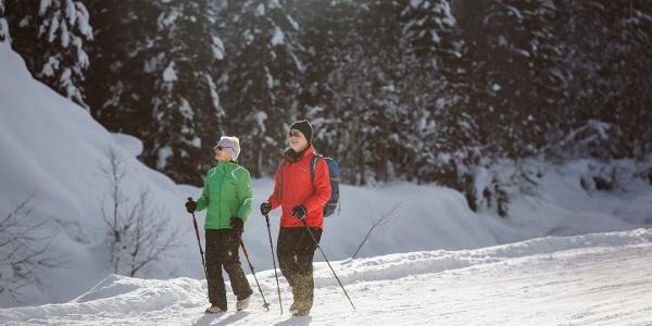 Winterwandern Geils - Bergläger