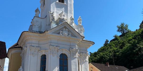 Die barocke Pfarrkirche Ehrenhausen