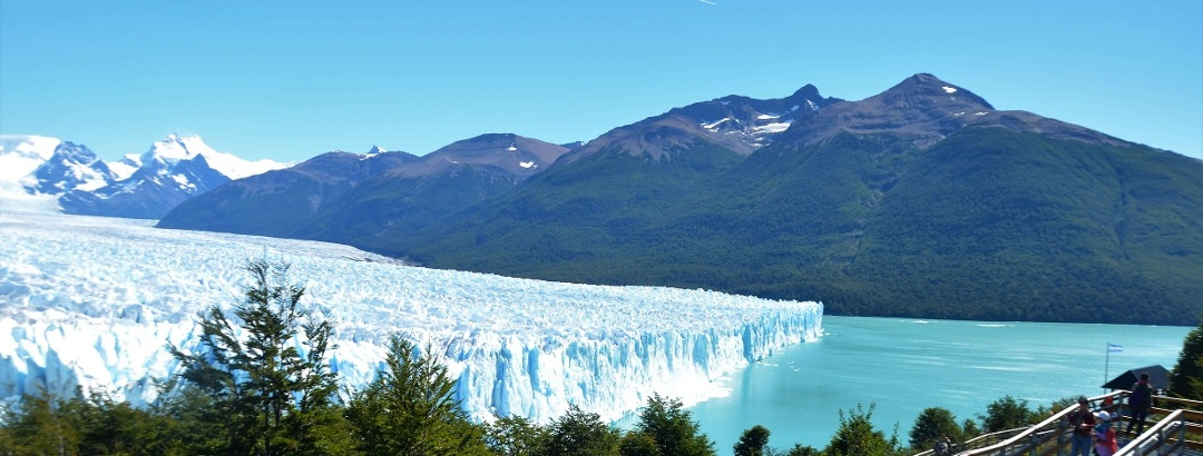 Pasarela con vistas al Glaciar Perito Moreno