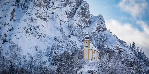 St. Pankraz im Winter