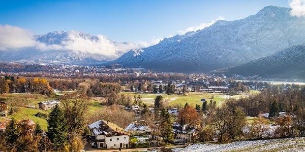 Der Frühling im Nonner Oberland Bad Reichenhall