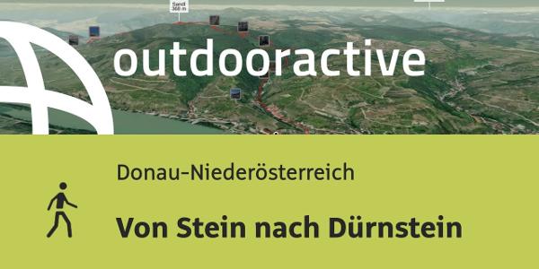 Wanderung in Donau-Niederösterreich: Von Stein nach Dürnstein