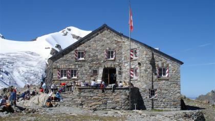 Die Tierberglihütte auf 2795 m.