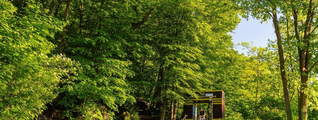 Die Goldene Pforte - Startpunkt des Westweges