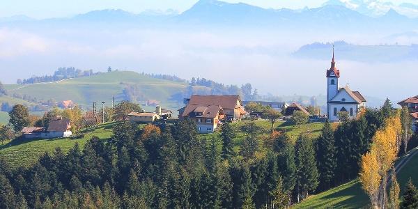 Das Dorf Menzberg