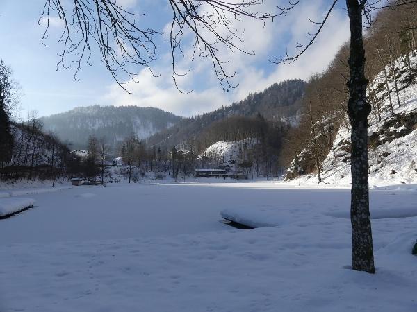 Luegsteinsee im Winter